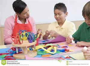 Elementary School Art Class Royalty Free Stock Photography ...