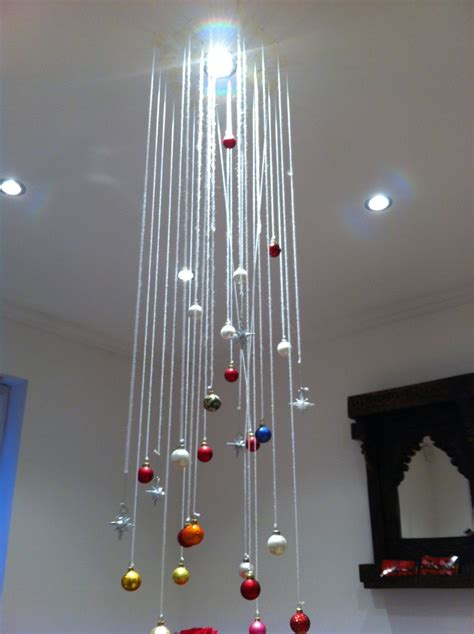 home christmas decorations pieces  string  baubles