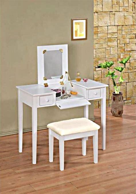 flip top vanity desk white makeup vanity table flip top vanity with bench