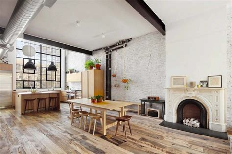 brooklyn family home   distinct industrial aesthetic