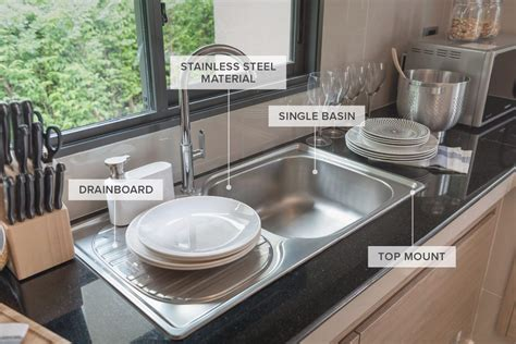 kitchen sinks 33x19x8 a guide to 12 different types of kitchen sinks