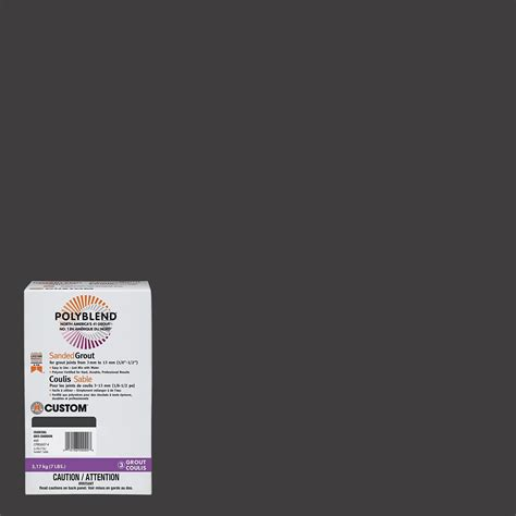 Polyblend Sanded Ceramic Tile Caulk Cure Time by 52 Tobacco Brown Polyblend Sanded Grout 7lb Cpbg527 4