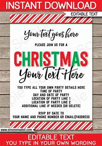 25 Unique Christmas Party Invitations Ideas On Pinterest