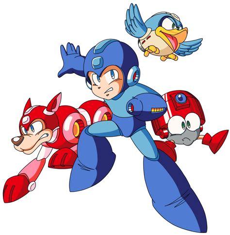 Main Characters — The Mega Man Network