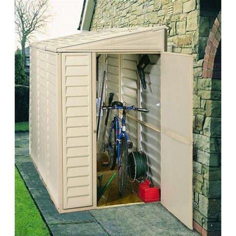 duramax  side mate vinyl shed   vinyl storage