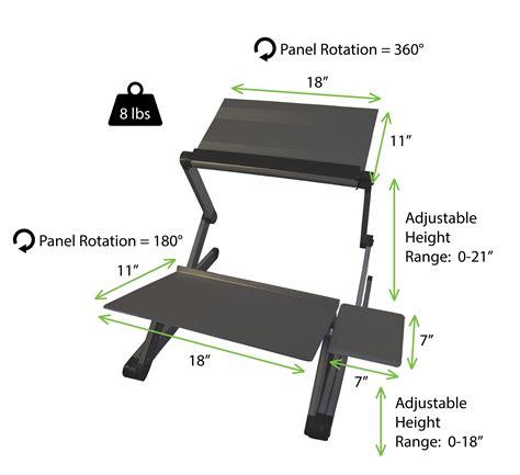 workez standing desk conversion workez standing desk conversion kit