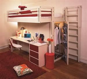 Lit Bébé Petit Espace : lit rangement petit espace ~ Melissatoandfro.com Idées de Décoration