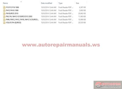volvo truck service manual  auto repair manual forum