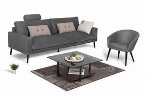 Natuzzi Sofa Online Kaufen : davin von skandinavische m bel sofa dark grey sofas couches online kaufen ~ Bigdaddyawards.com Haus und Dekorationen