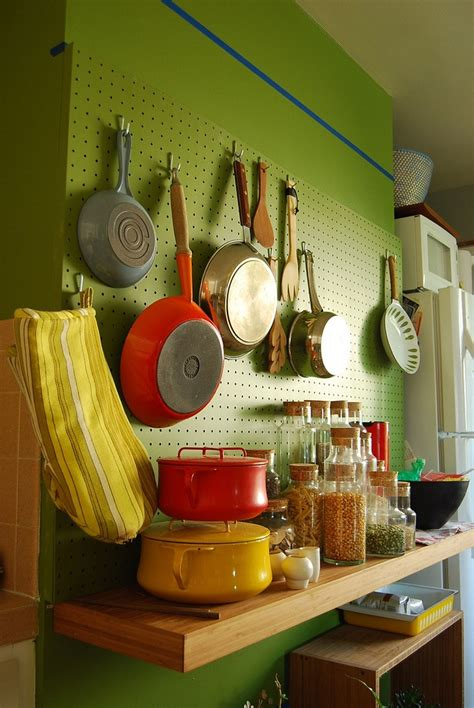 images  kitchen pegboard ideas  pinterest