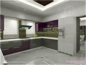 kitchen interior decoration kitchen interior views by ss architects cochin kerala home design and floor plans