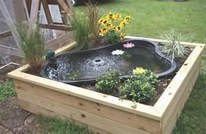 DIY Water Garden Ideas: #54 Pond Garden Ideas and Design