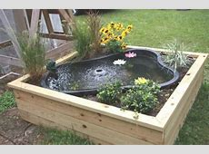 DIY Water Garden Ideas #54 Pond Garden Ideas and Design