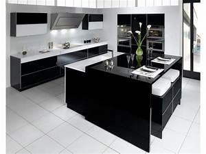 douze cuisines avec ilot central douze ambiances With salle À manger contemporaine avec cuisine tout Équipée avec Électroménager