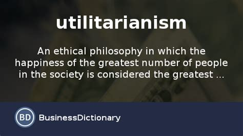 What Is Utilitarianism? Definition And Meaning