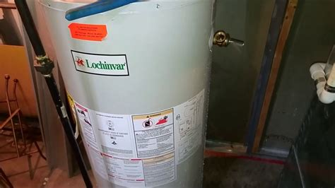 Lochinvar Hot Water Heater Missing Dip Tube Youtube