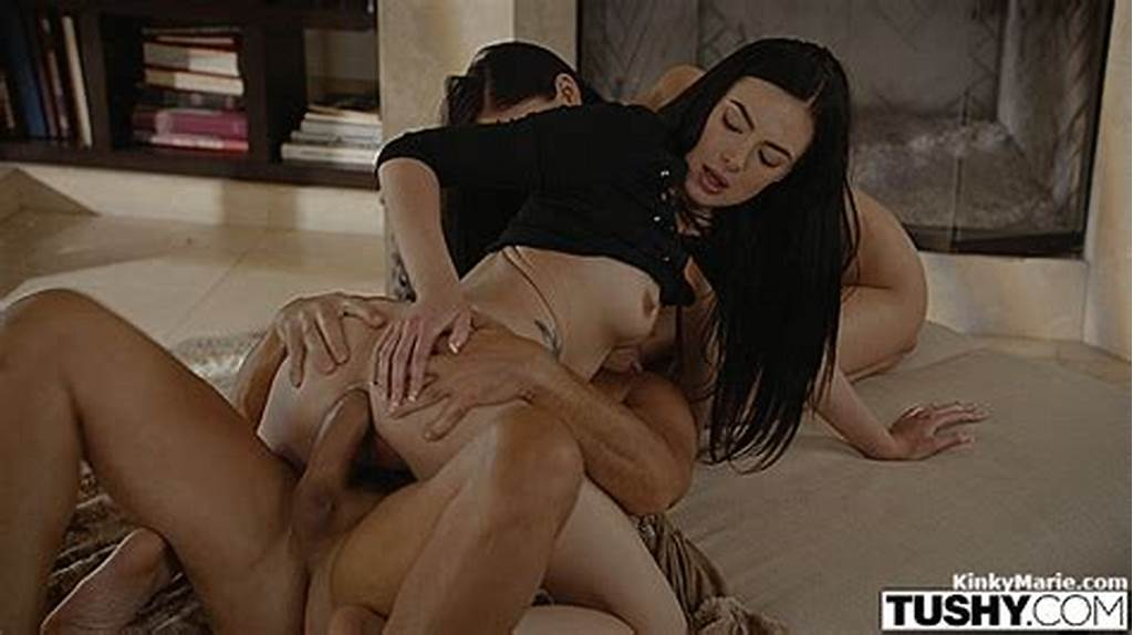 #Step #Dad #Does #Anal #With #Daughter #Ariana #And #Her #Friend