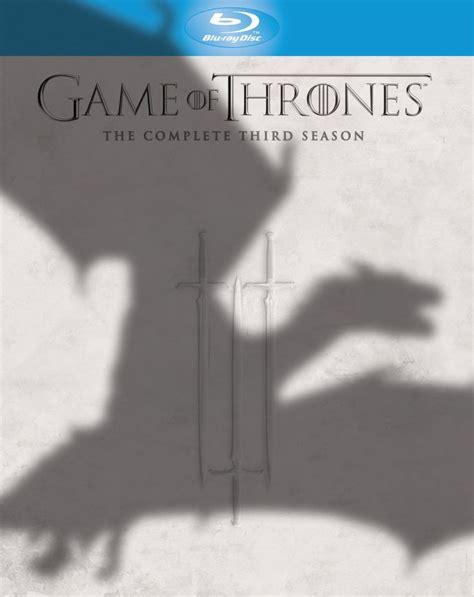 game  thrones season  blu ray zavvicom