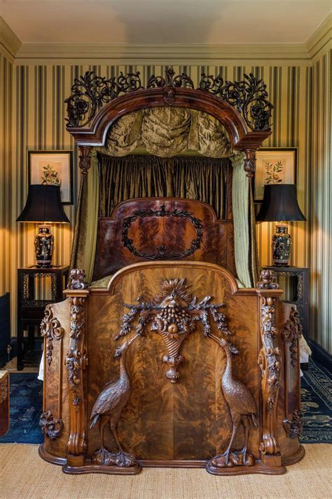 heron bed  england luxury interiors
