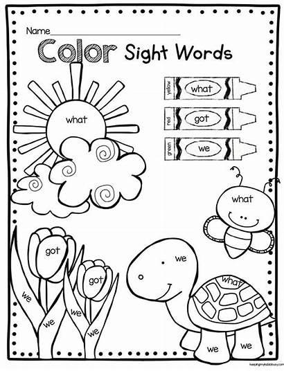 Kindergarten Worksheet Sight Words Math Worksheets Word