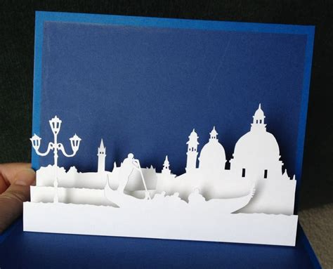 venice pop  card template  paysages en pop