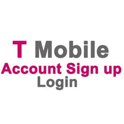 t mobile login in my t mobile login