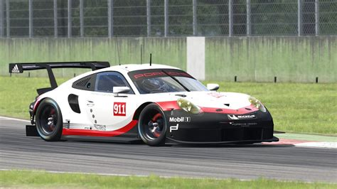 2017 Porsche 911 Rsr For Assetto Corsa Trailer