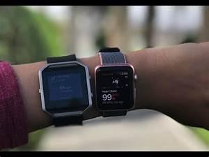 Apple Watch Vs Fitbit Blaze YouTube