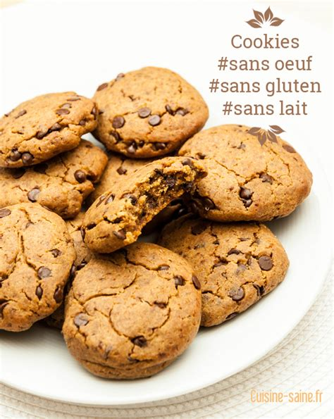 recette dessert sans gluten sans lait cookie archives cuisine saine sans gluten sans lait