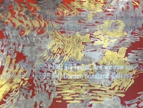 call  jenny holzers latest paintings  art basel miami highlight revelations  trumps