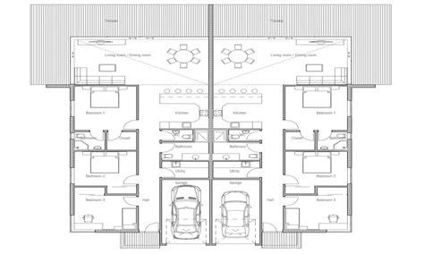 duplex house plan  bedroom duplex floor plans plan