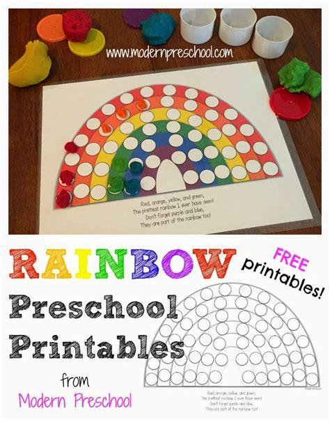 activity rainbow colors fill  pots  gold