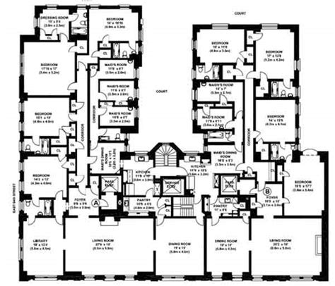 mansion floorplan how to visit bernie madoff in his apartment business insider