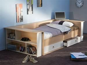 Kinderbett 200 X 90 : lit banquette 90 x 200 cm tiroir tweet 54732 ~ Yasmunasinghe.com Haus und Dekorationen