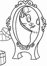 Mirror Coloring Mirror2 sketch template