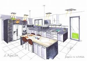 Plan De Cuisine 3d : logiciel plan cuisine 3d gratuit en ligne ~ Nature-et-papiers.com Idées de Décoration