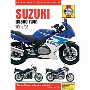 Suzuki Gs500e Workshop Repair Manual Download All 1989