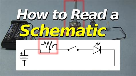 read  schematic youtube