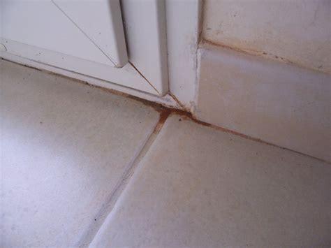 detecter fuite eau sous carrelage infiltration d eau sous le seuil de porte fen 234 tre 13