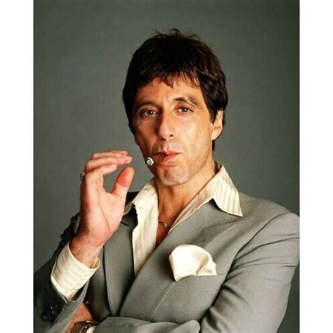 "AL PACINO  ""TONY MONTANA"" 8X10 HQ COLOR PHOTO on eBid"