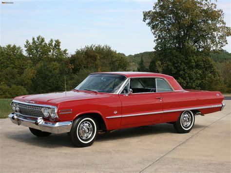 Chevrolet Impala SS Sport Coupe 1963 photos (2048x1536)