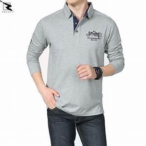 Spring autumn high quality men polo shirt business casual polo men sleeved polo ralphmen brand ...