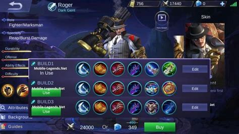 Roger Guide-tips And Builds 2019