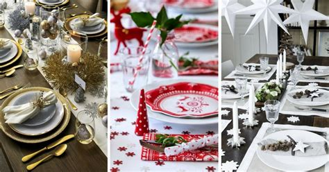 Deco De Table Noel 2017