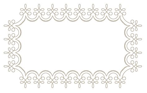 free blank wedding place card template placecard template free images at clker vector