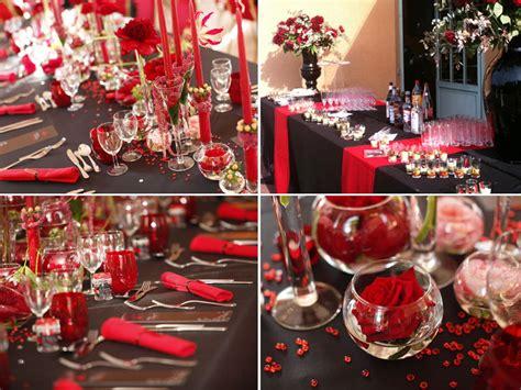 mariage en rouge  noir par mission mariage