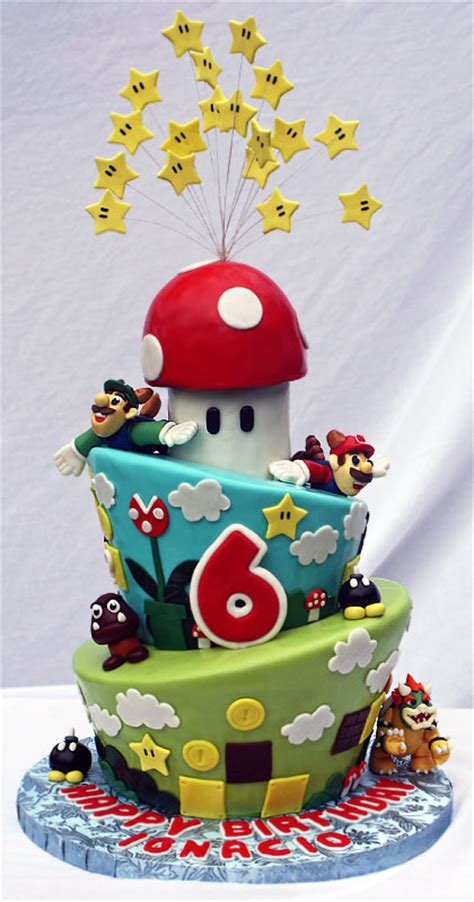 This Is An Awesome Super Mario Bros Birthday Cake Pic