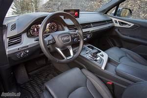 Audi Q7 Interieur : essai audi q7 e tron ~ Nature-et-papiers.com Idées de Décoration