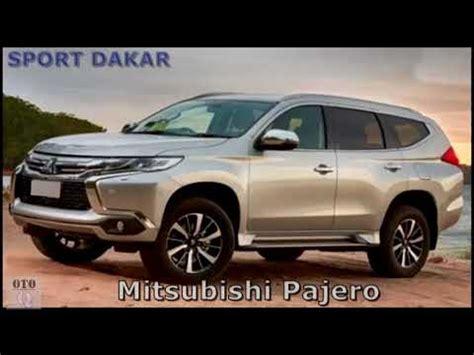 2019 All Mitsubishi Pajero by New 2019 Mitsubishi Pajero Sport Dakar Engine And