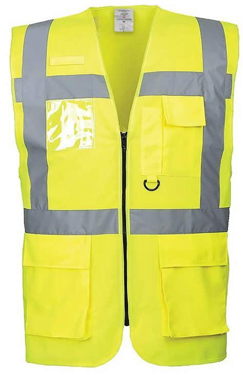 Augstas redzamības veste LSGP, CL2, dzeltena 3XL, Pesso ...